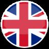 image drapeau cercle Royaume-uni